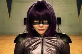 Cloe Grace Moretz as hit-Girl